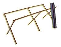 Металлические ножки для торгового стола 2,5 метра