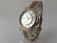 Часы  Q@Q  classic 5Bar стальной браслет, дата полумесяцем, классический вид