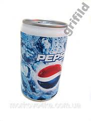 Портативная MP3 колонка от USB FM Банка Pepsi