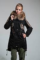 Куртка парка зима MILA NOVA