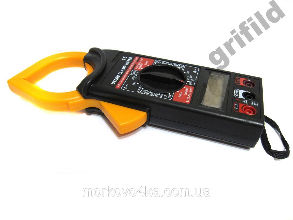 Токовые клещи Digital 266 мультиметр тестер