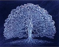 """Набор алмазной вышивки (рисования камнями) """"Символ - дерево жизни"""""""