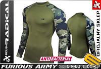 Термофутболка с длинным рукавом Radical  Furious Army хаки L
