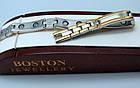 Лечебный браслет от давления женский из медицинской стали позолота., фото 3