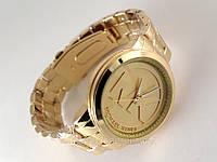 Часы женские в стиле MK - золотистые, фото 1