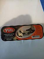Vilo пропитка блеск для обуви черная 12*4 см