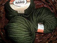 Nako Pure Wool Plus (Нако пур вул)  толстая 100% шерсть 10267