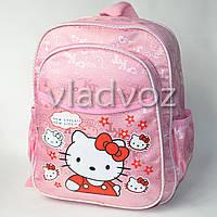 Детский рюкзак hello kitty нежно розовый new style