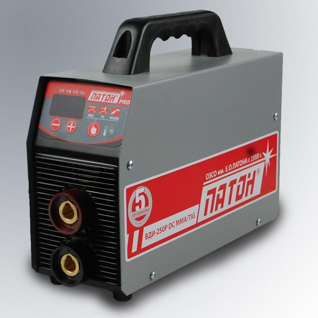 Сварочный инвертор ПАТОН ВДИ-250P (Цифровой, Professional) DC MMA/TIG  220В