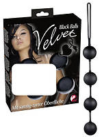 Шарики для тренироки вагины Velvet Balls 4