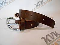Стильный женский ремень темно-коричневый  (Арт .К1Ж)