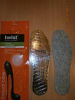 Стельки зимние с фольгой TWIST