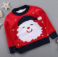 Свитер детский новогодний Дед мороз