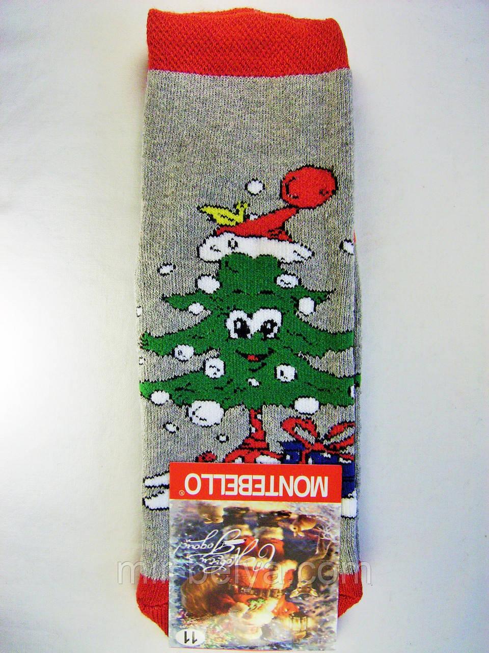 Детские носки носочки новогодние на подарок махровые под елку