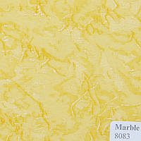 Рулонные шторы Ткань Marble Жёлтый 8083
