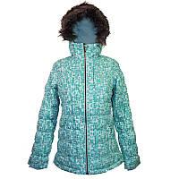 Женская горнолыжная куртка Columbia GYROSLOPE™ JACKET бирюзовая WK1483 325