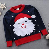 Свитер детский новогодний Санта