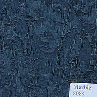 Рулонные шторы Ткань Marble Синий 8088