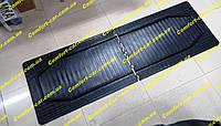 Коврики резиновые 2-й,3-й ряд сидений 1585мм*520мм