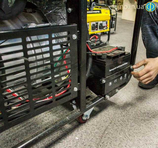 трехфазный бензиновый генератор Vitals EST 8.5 3B