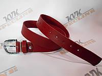 Стильный женский ремень красный (Арт. КР1Ж), фото 1