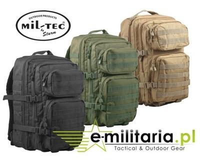 Тактический рюкзак MIL-TEC 36L 3 -х цветов