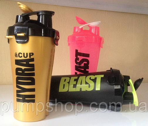 Шейкер  Hydra Cup Dual Shaker Cup Gold, фото 2