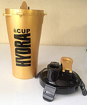 Шейкер  Hydra Cup Dual Shaker Cup Gold, фото 3