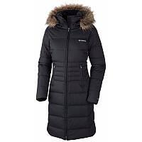Пальто пуховое женское Columbia VARALUCK™ III LONG  DOWN  JACKET черное