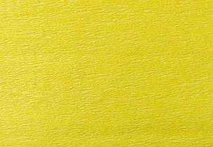 Гофрированная бумага 55% желтая 1 Вересня