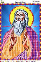 Схема для вышивки бисером Святой Илья