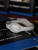 Спортивный браслет Power Balance PB c энергетической голограммой серого цвета