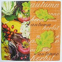 Салфетка для декупажа Autumn 33*33 см, 1 шт