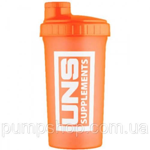 Шейкер UNS оранжевый 0.7 л
