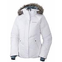Женская пуховая куртка Columbia LAY D DOWN ™ JACKET белая WL4047 100