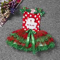 Платье новогоднее детское нарядное