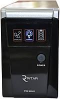 ИБП RITAR RTSW-600 (360Вт) LED, для котла, чистая синусоида, внешняя АКБ