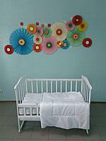 Одеяло и подушка в детскую кроватку, (120х90)