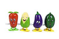 Игрушка механическая кукуруза+овощи
