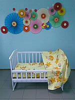 Детское постельное белье 3 в 1