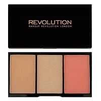 Палетка для контурирования Makeup Revolution Iconic Pro Blush Bronze And Brighten