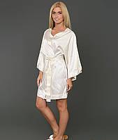 Шелковый халат-накидка Glam HAMAM размер L