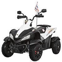 Детский квадроцикл  M 3221 E-12, 90W, 12V7AH, EVA, FM, USB - Белый-купить оптом