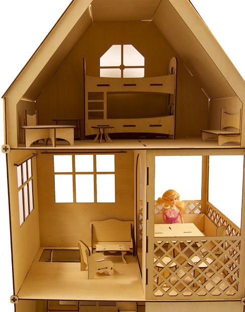 Домики для Барби, кукол до 30 см