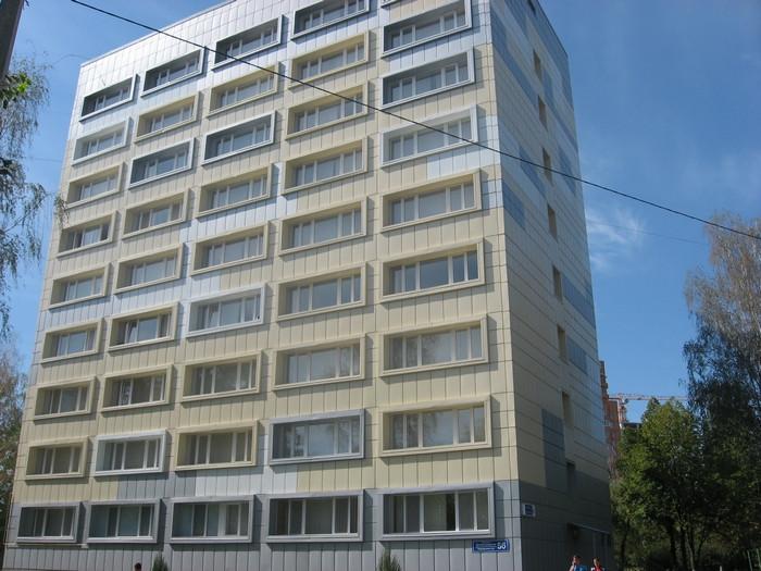 Капитальтный ремонт общежития