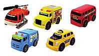 Набор Мини-техника  Городской транспорт  5 шт Toy State (41402)