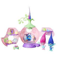 Игровой набор Тролли Коронация троллей Поппи, Розочка, Мачек DreamWorks Trolls Poppy's Coronation Pod