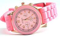 Часы geneva s розовый