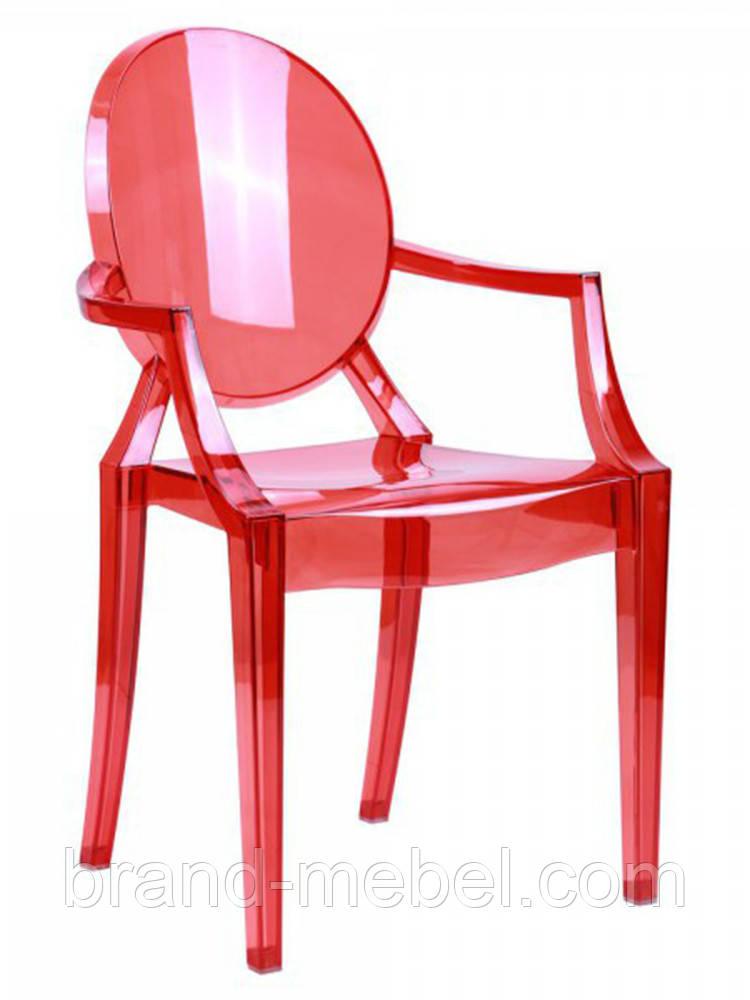 Стул Alice Arm Пластик Красный