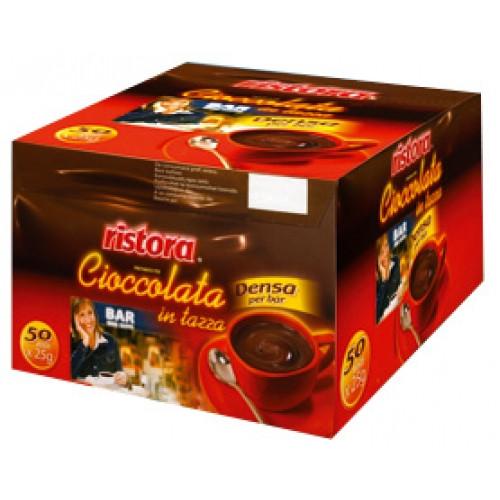 Горячий Шоколад Ristora порционный (ИТАЛИЯ) 50x25 грамм.